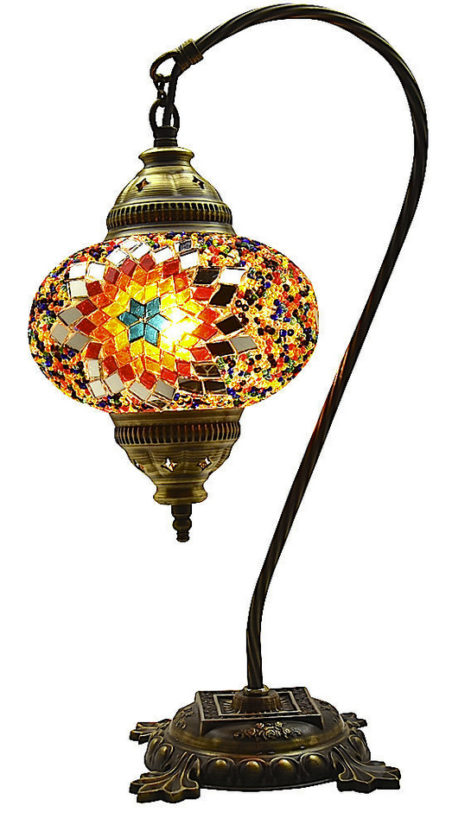 morrocan style lighting. delighful style great style turkish moroccan mosaic table bedside tiffany swan lamp light  multi colour and morrocan lighting